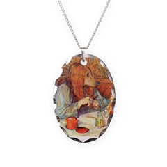 Red Head Necklace