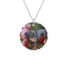 Vase Doxie Necklace