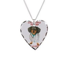 Anesthesiologist Necklace Heart Charm