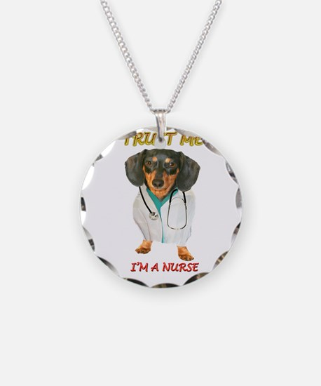 Nurse Dox Necklace Circle Charm
