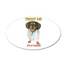 Nurse Dox 22x14 Oval Wall Peel