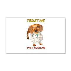 Doc Doxie 22x14 Wall Peel