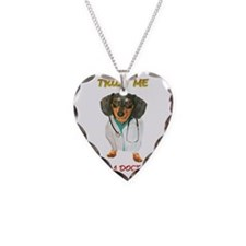 Doctor Dox Necklace Heart Charm