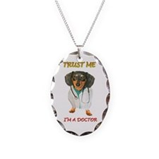 Doctor Dox Necklace Oval Charm