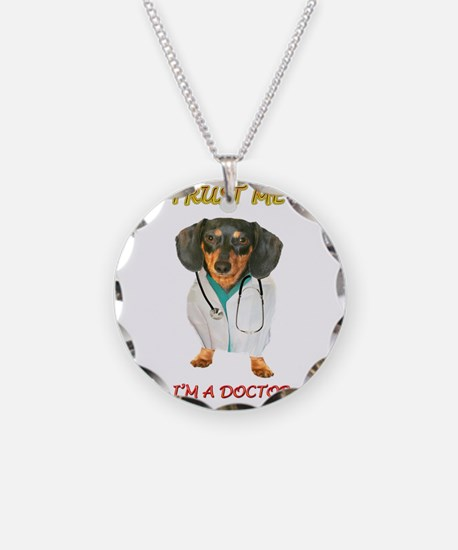 Doctor Dox Necklace Circle Charm