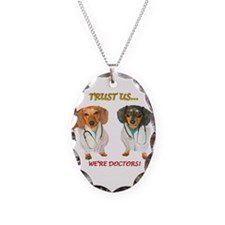 Doc Doxs Necklace Oval Charm
