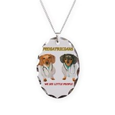 Kid Doctors Necklace Oval Charm