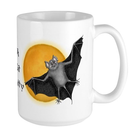 Halloween Vampire Bat Large Mug
