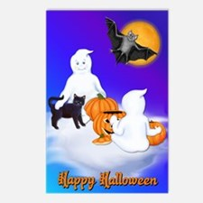 Halloween Friends Postcards (Package of 8)
