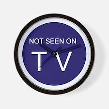 NOT SEEN ON TV Wall Clock