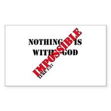 Nothing Impossible Decal
