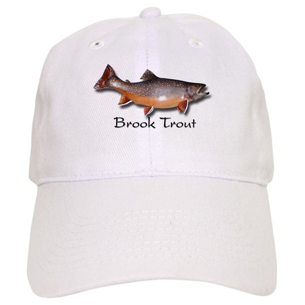 Brook trout fly fishing hat by trophybrooktrout for Trout fishing hats