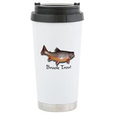 Spill-proof Brook Trout Driving Mug