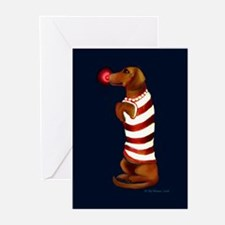 Dachshund Christmas Greeting Cards (Pk of 10)