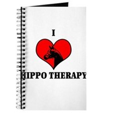 I Luv Hippo Therapy Journal
