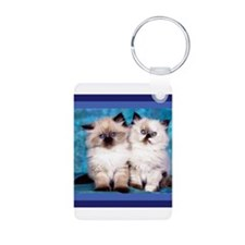 Siamese Kittens Keychains