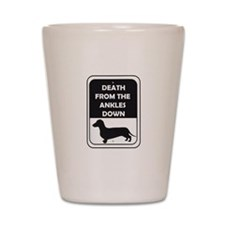 Ankle Death Shot Glass