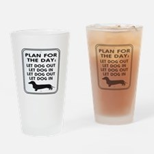 Plan For Day Drinking Glass
