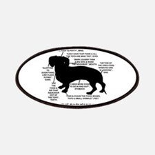 Dachshund Chart Patches