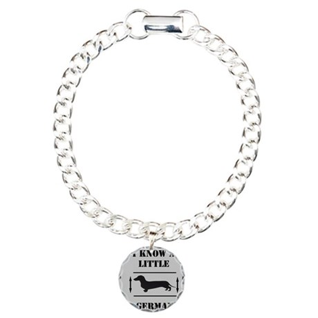 Nice Dachshund Charm Bracelet, One Charm