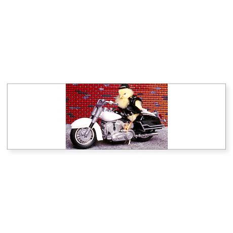 BIKER CHICK Sticker (Bumper)