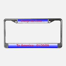 President Obama License Plate Frame