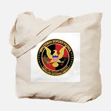 Hispanic Minuteman Border Pat Tote Bag