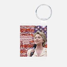 Hillary Clinton 2012 Keychains