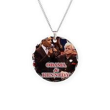Obama & Kennedy Necklace