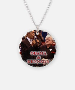 Obama & Kennedy Necklace