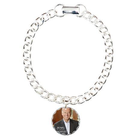Joe Biden Charm Bracelet, One Charm