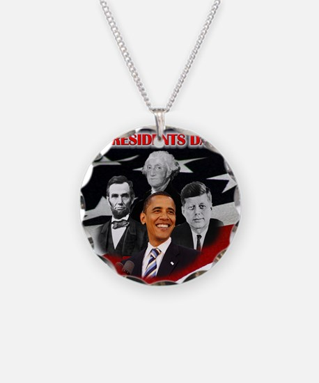 Presidents Day Necklace
