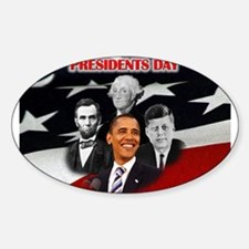 Presidents Day Decal