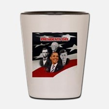 Presidents Day Shot Glass