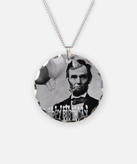 Lincoln's Birthday Necklace