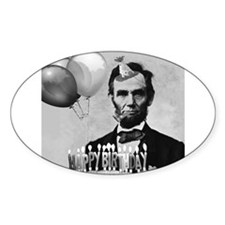 Lincoln's Birthday Decal