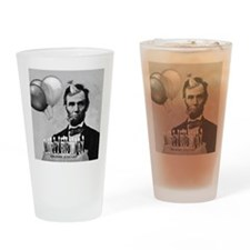 Lincoln's Birthday Drinking Glass