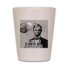 Lincoln's Birthday Shot Glass