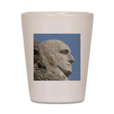 Mt. Rushmore Shot Glass