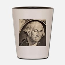 George Washington Shot Glass
