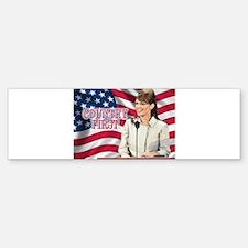 Country First Bumper Bumper Sticker
