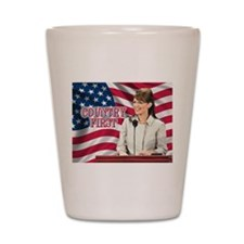 Country First Shot Glass