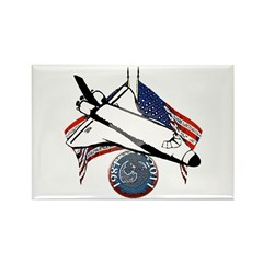 Space shuttle Rectangle Magnet (100 pack)