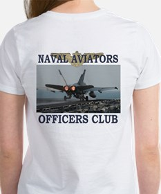 naval aviators officers club 3front T-Shirt