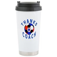 Soccer Coach Thank You Travel Mug