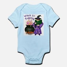 Witch In Training Infant Bodysuit