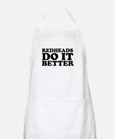 Redheads Do It Better BBQ Apron