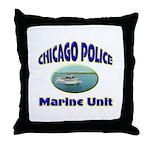 Chicago PD Marine Unit Throw Pillow