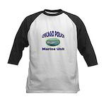 Chicago PD Marine Unit Kids Baseball Jersey
