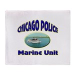 Chicago PD Marine Unit Throw Blanket